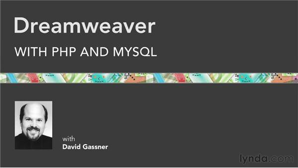Final thoughts: Dreamweaver with PHP and MySQL