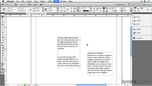Understanding stories and frames: Collaborative Workflows with InDesign and InCopy