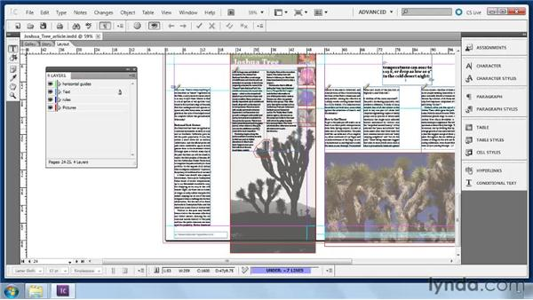 Editing in Layout view: Collaborative Workflows with InDesign and InCopy