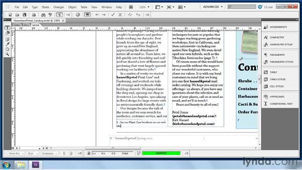Adding footnotes: Collaborative Workflows with InDesign and InCopy