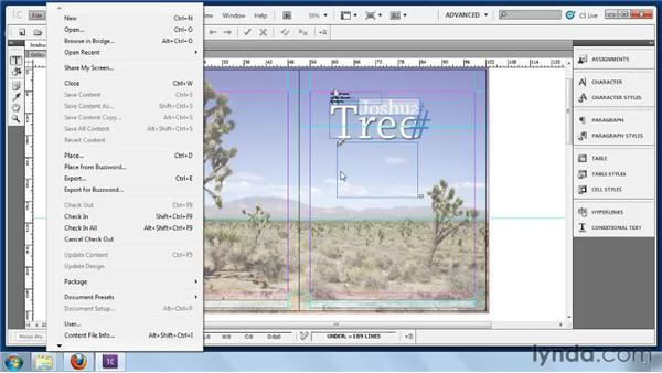 Placing Buzzword files in InCopy: Collaborative Workflows with InDesign and InCopy