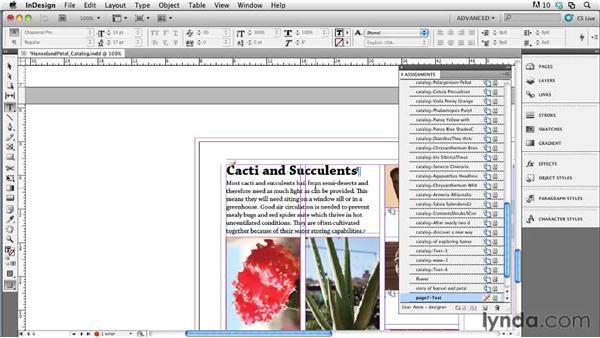 Editing and updating files : Collaborative Workflows with InDesign and InCopy