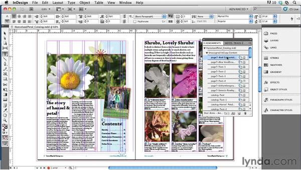Closing out of a project: Collaborative Workflows with InDesign and InCopy