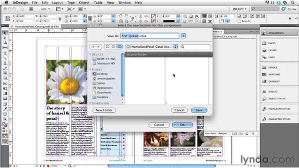 Keeping layout files local: Collaborative Workflows with InDesign and InCopy