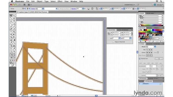 Taking charge of anti-aliasing: Illustrator CS5 for Web and Interactive Design