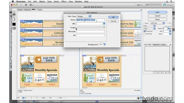 Setting up an online ad campaign: Illustrator CS5 for Web and Interactive Design