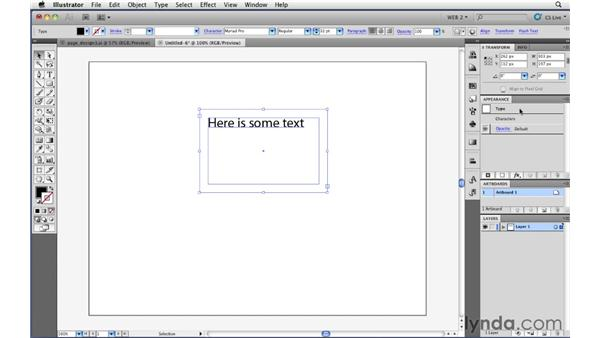 Simulating the CSS box model: Illustrator CS5 for Web and Interactive Design