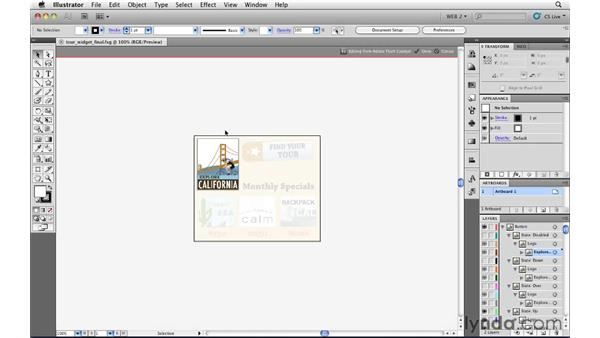 Roundtrip editing between Illustrator and Flash Catalyst: Illustrator CS5 for Web and Interactive Design