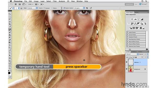 Cleaning up the small details: Photoshop CS5: Fashion Retouching Projects