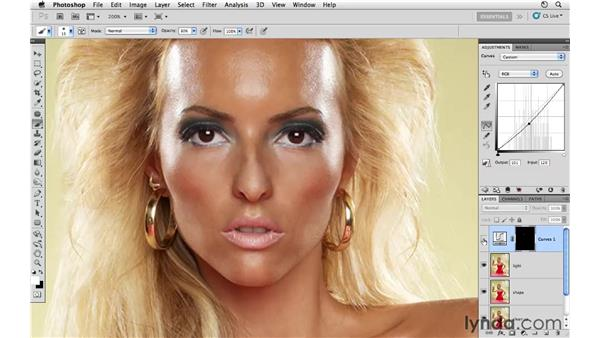 Working with shadows and highlights: Photoshop CS5: Fashion Retouching Projects
