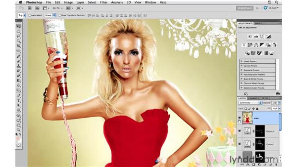 Working with contrast and color: Photoshop CS5: Fashion Retouching Projects