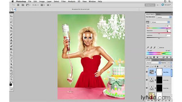 Improving color: Photoshop CS5: Fashion Retouching Projects