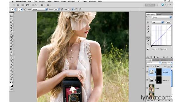Adding creative colors: Photoshop CS5: Fashion Retouching Projects