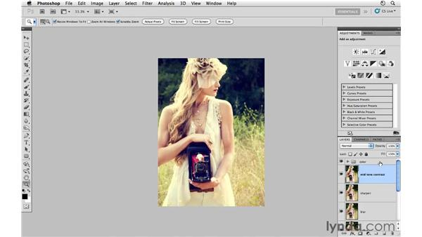 Cropping and final review: Photoshop CS5: Fashion Retouching Projects