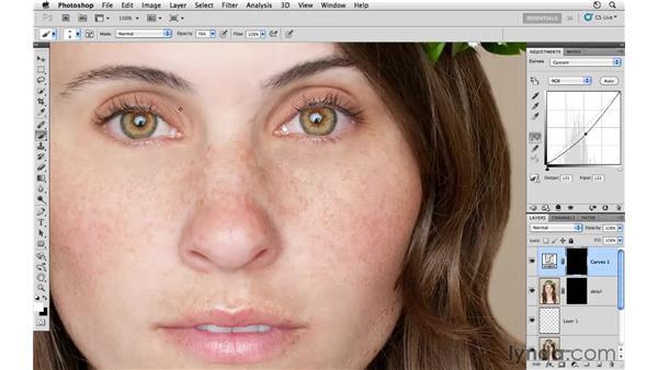 Improving the eyes: Photoshop CS5: Fashion Retouching Projects