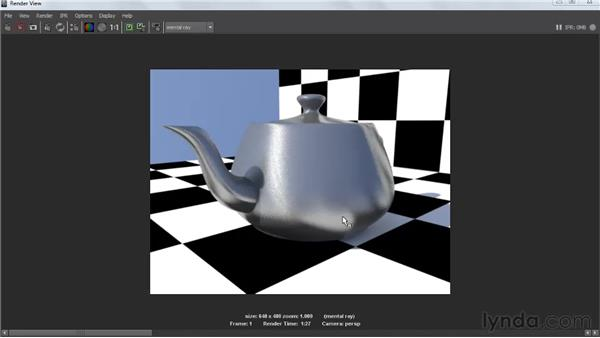 Understanding anisotropy: Creating Textures and Shaders in Maya