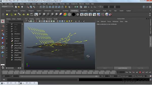 Defining sub-surface scattering: Creating Textures and Shaders in Maya