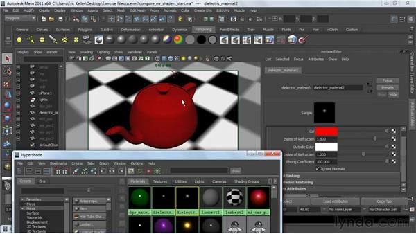 Making sense of mental ray shaders: Creating Textures and Shaders in Maya