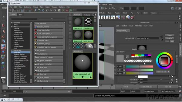 Introducing the mia_material: Creating Textures and Shaders in Maya