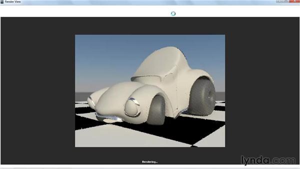 Creating a custom mia_material preset: Creating Textures and Shaders in Maya