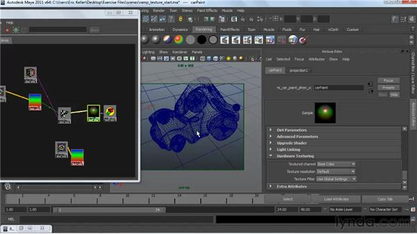 : Creating Textures and Shaders in Maya