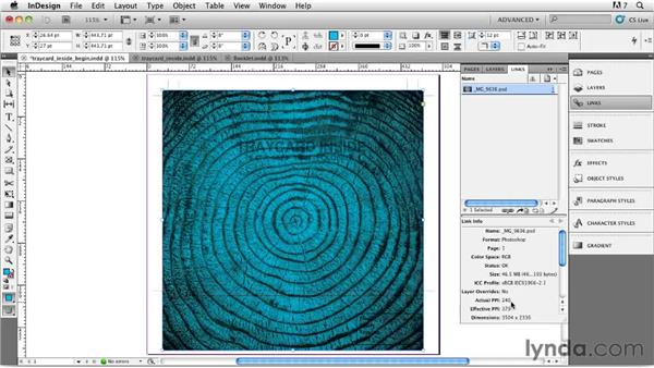 Designing the inside inlay cards: Designing a CD Cover