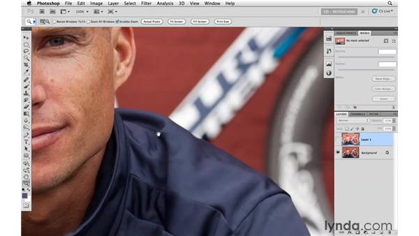 Creating two exposures with Adobe Camera Raw: Photoshop CS5: Athletic Retouching Projects