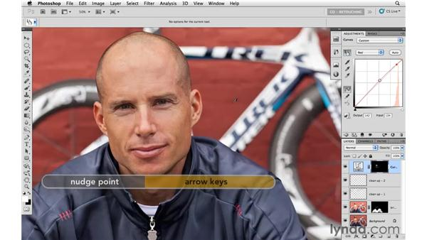 Reducing brightness on the skin: Photoshop CS5: Athletic Retouching Projects