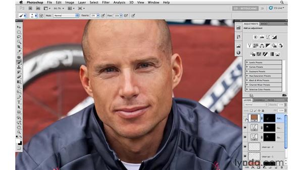 Enhancing color and tone: Photoshop CS5: Athletic Retouching Projects