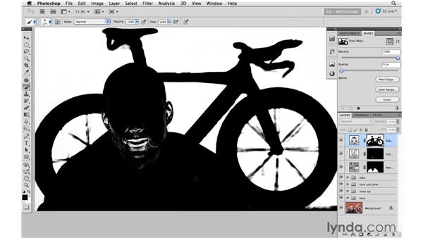 Changing the background color: Photoshop CS5: Athletic Retouching Projects