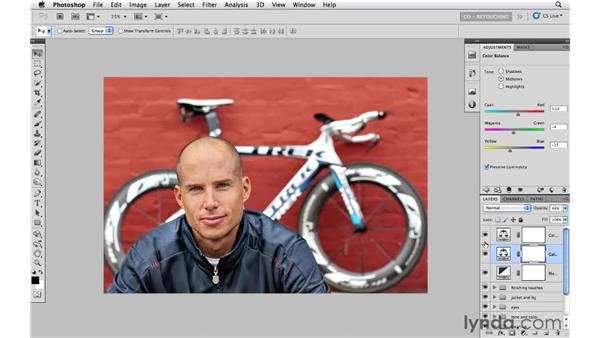 Black-and-white creativity: Photoshop CS5: Athletic Retouching Projects