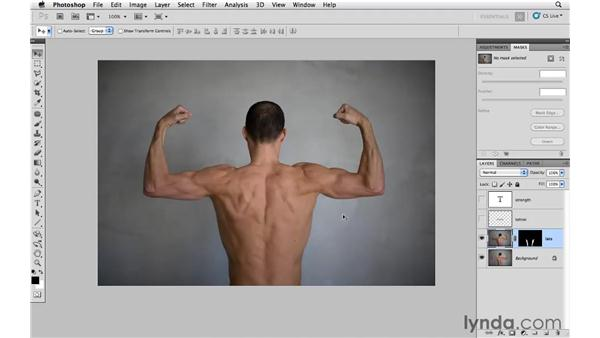 Enhancing muscles: Photoshop CS5: Athletic Retouching Projects