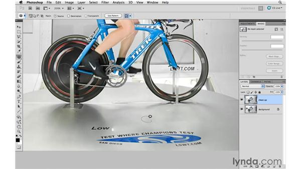 Removing small details: Photoshop CS5: Athletic Retouching Projects