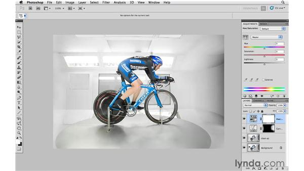 Lightening certain colors: Photoshop CS5: Athletic Retouching Projects