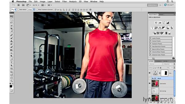 Enhancing the color and tone: Photoshop CS5: Athletic Retouching Projects