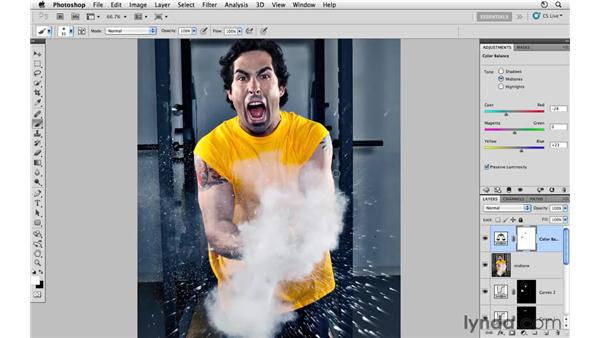 Final project review: Photoshop CS5: Athletic Retouching Projects