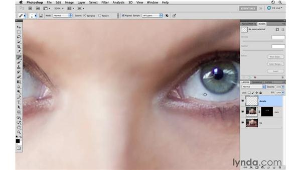 Cleaning up the small details: Photoshop CS5: Athletic Retouching Projects