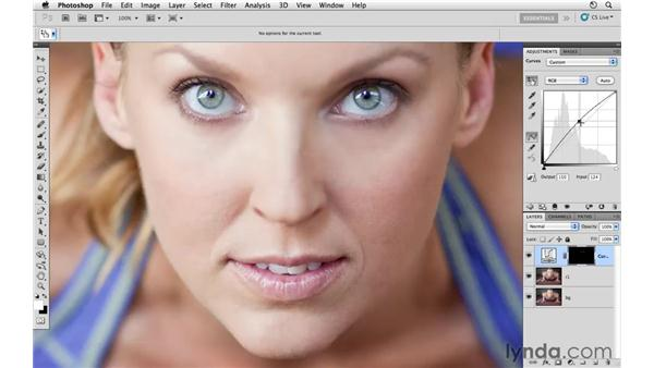 Enhancing the eyes: Photoshop CS5: Athletic Retouching Projects