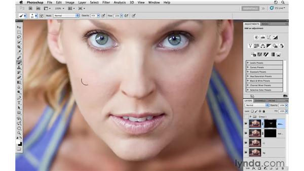 Enhancing the skin: Photoshop CS5: Athletic Retouching Projects