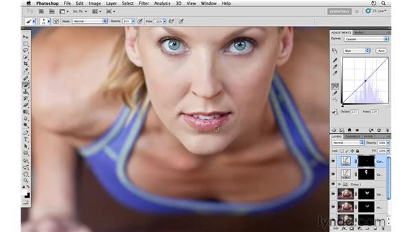 Modifying the overall color and tone: Photoshop CS5: Athletic Retouching Projects
