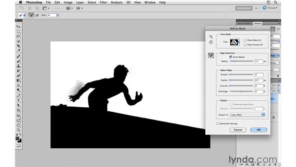 Correcting the wall color: Photoshop CS5: Athletic Retouching Projects