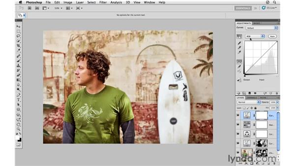 Making creative color adjustments: Photoshop CS5: Athletic Retouching Projects