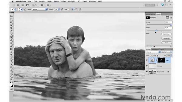 Modifying the tone: Photoshop CS5: Athletic Retouching Projects