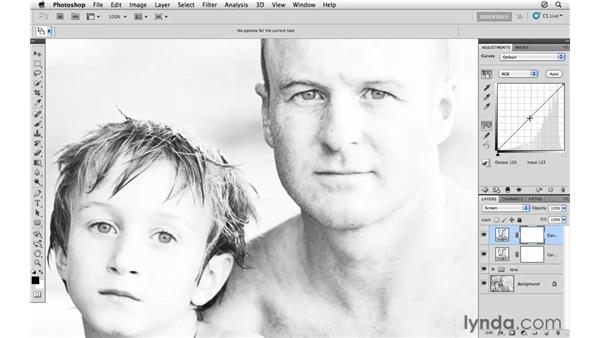 Working with curves: Photoshop CS5: Athletic Retouching Projects