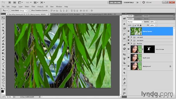 Upsampling and Lens Blur: Photoshop CS5 One-on-One: Mastery