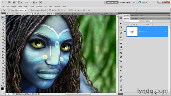 Making a Smart Object: Photoshop CS5 One-on-One: Mastery