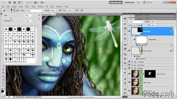 Applying Smart Filters: Photoshop CS5 One-on-One: Mastery