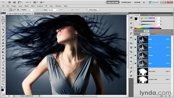 Introducing masking: Photoshop CS5 One-on-One: Mastery