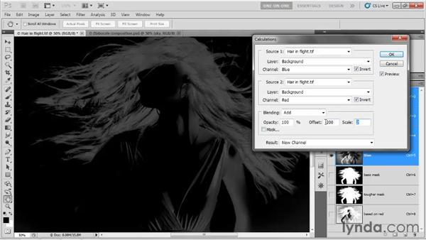 Add, Subtract, Offset, and Scale: Photoshop CS5 One-on-One: Mastery