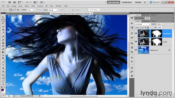 Finessing the final composition: Photoshop CS5 One-on-One: Mastery